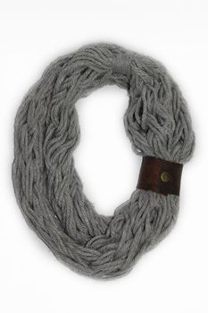 Vine Accessories Wool Snoods Double - Grey