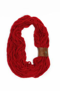 Vine Accessories Wool Snoods Double - Red
