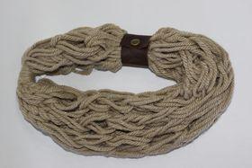 Vine Accessories Wool Snood Single - Pepper