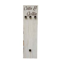 "Prettish Braai Set Holder - ""Chillin & Grillin"""