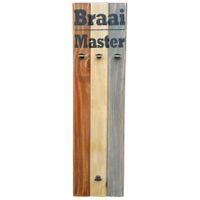 "Prettish Braai Set Holder - ""Braai Master"""