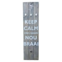 "Prettish Braai Set Holder - ""Nou Braai"""