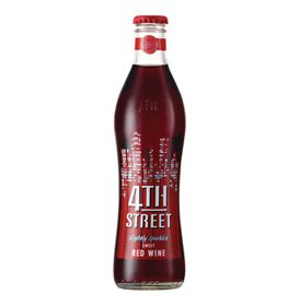 4th Street - Lightly Sparkled Sweet Red Case - 24 x 300ml