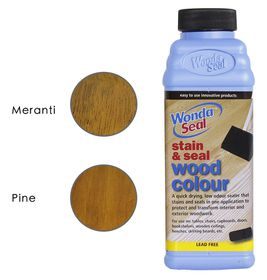 WondaSeal Teak 475ml Interior/Exterior Wood Stain & Sealer