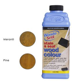 WondaSeal Teak 950ml Interior/Exterior Wood Stain & Sealer