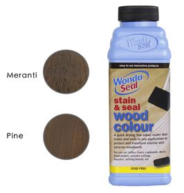 WondaSeal Imbuia 475ml Interior/Exterior Wood Stain & Sealer