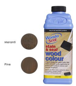 WondaSeal Imbuia 950ml Interior/Exterior Wood Stain & Sealer