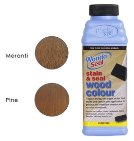 WondaSeal Mahogany 475ml Interior/Exterior Wood Stain & Sealer