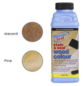 WondaSeal Clear 475ml Interior/Exterior Wood Stain & Sealer