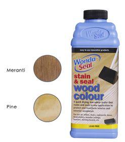 WondaSeal Clear 950ml Interior/Exterior Wood Stain & Sealer