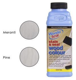 WondaSeal 475ml Fresh White, White Wash Effect Wood Stain & Sealer in One
