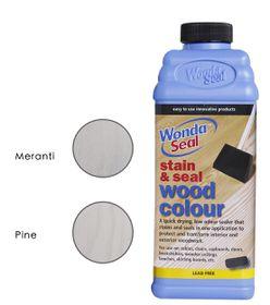 WondaSeal 950ml Fresh White / White Wash Effect Wood Stain & Sealer in One
