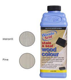 WondaSeal Antique White 950ml Interior/Exterior Wood Stain & Sealer