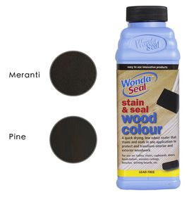 WondaSeal Indonesian Teak 475ml Interior/Exterior Wood Stain & Sealer