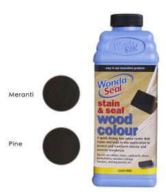 WondaSeal Indonesian Teak 950ml Interior/Exterior Wood Stain & Sealer