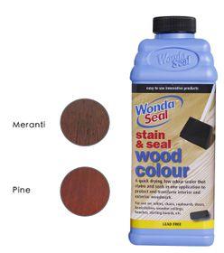 WondaSeal Wild Cherry 950ml Interior/Exterior Wood Stain & Sealer