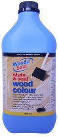 WondaSeal 5LT Fresh White / White Wash Effect Wood Stain & Sealer in One