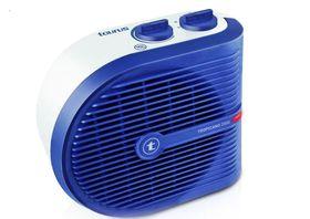 Taurus - Tropicano Heater Floor Fan - White & Blue