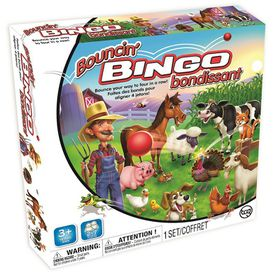Bouncin Bingo Game