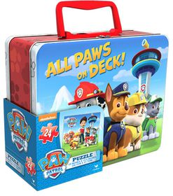 Paw Patrol Puzzle In Lunch Tin
