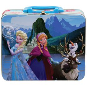 Disney Frozen Puzzle In Lunch Tin