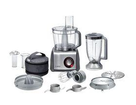 Bosch - 1250W Food Processor - Black & Silver