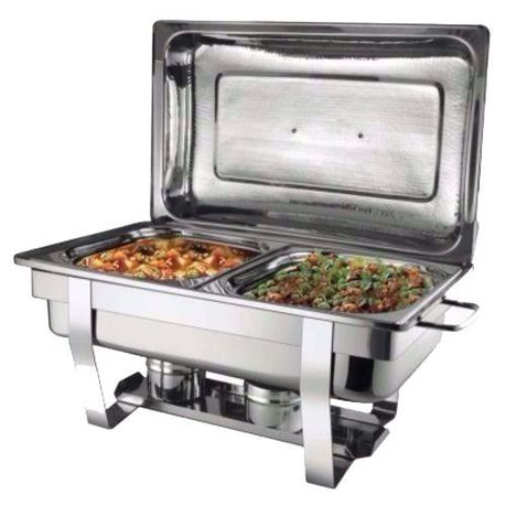 two burner chafing dish with double pan | buy online in south africa