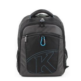 "Kingsons 15.4"" Laptop Backpack With Key Chain"
