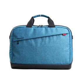 """Kingsons 15.6"""" Trendy Shoulder Bag - Blue"""