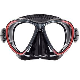 Scubapro Synergy Twin Mask - Black & Red