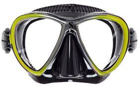 Scubapro Synergy Twin Mask - Black & Yellow