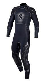 Scubapro Everflex 5/4mm Steamer Mens Wetsuit - Black