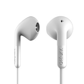 De Func +Hybrid Earphones - White