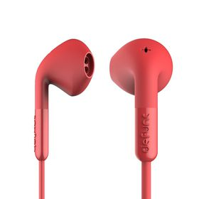 De Func +Hybrid Earphones - Red