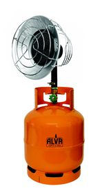 Alva - Stainless Steel Tank Top Heater - Cylinder not included