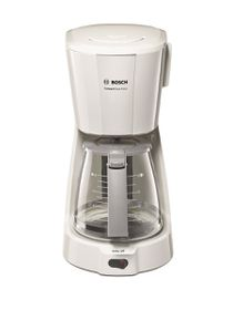 Bosch - 1100W Compact Class Coffee Machine - White