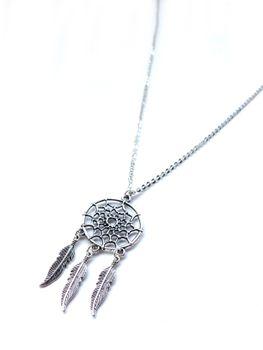 Lakota Inspirations Dream Catcher Chain Necklace