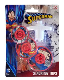 Justice League Superman Stacking Tops