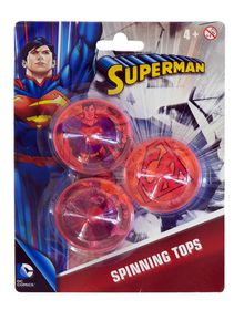 Justice League 2 Pack Spinning Tops