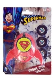 Justice League Superman Drone Disk Shooter