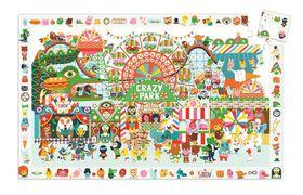 Djeco Observation Puzzle - Crazy Park