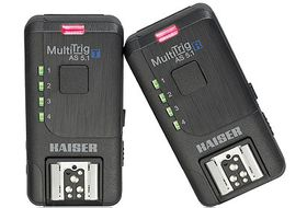 Kaiser MultiTrig AS 5.1 Radio Trigger Set for Camera or Flash