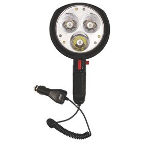 Coleman - 12 Volt LED Spotlight - Black