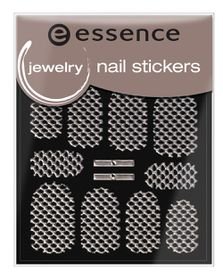 Essence Jewelry Nail Stickers 16 Silver