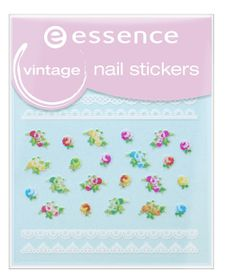 Essence Vintage Nail Stickers 17 Various