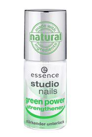 Essence Studio Nails Green Power Strengthener Transparent