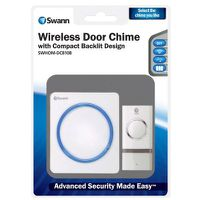 Swann Wireless Door Chime with Compact Backlit Design