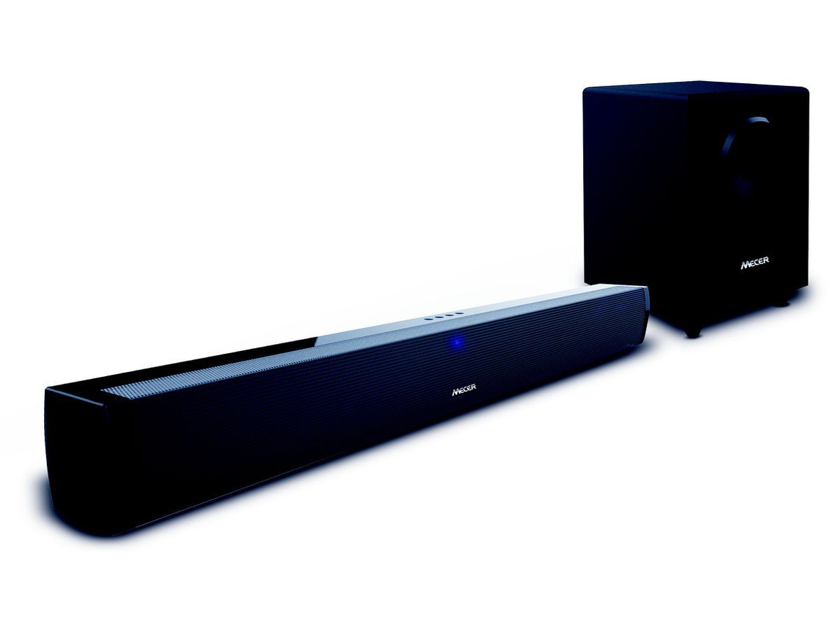 Mecer 2 1 Chanel Soundbar With Subwoofer X 15w 30w