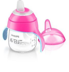 Philips Avent - 200ml Premium Spout Cup - Pink