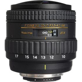 Tokina 10-17mm f3.5-4.5 AT-X 107 AF DX Fisheye Lens